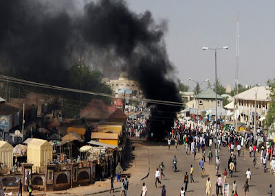Two suicide bombers die in Borno