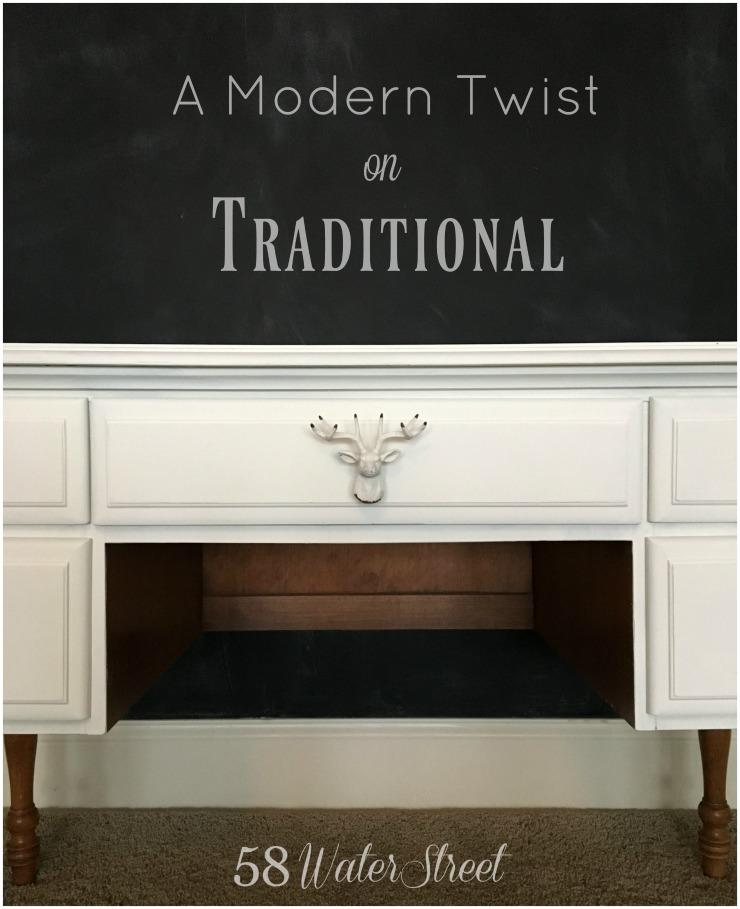 Modern Traditional Desk 58 Water Street