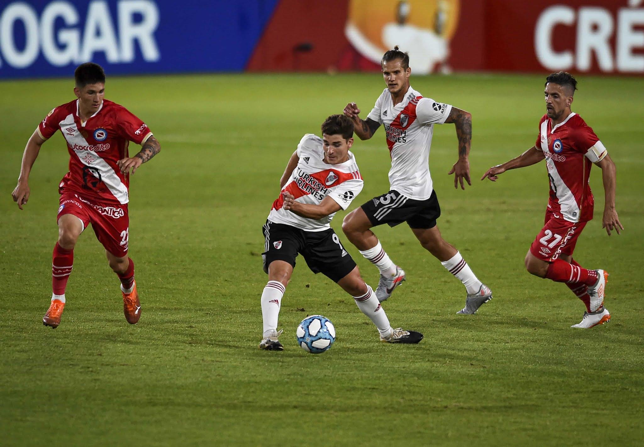 River 1-1 Argentinos Juniors