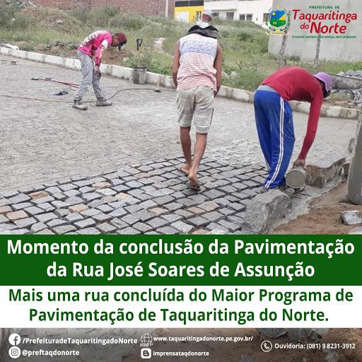 Maior Programa de Pavimentação da História de Taquaritinga do Norte