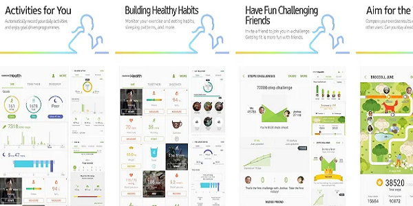 Aplikasi Kesehatan Samsung Health