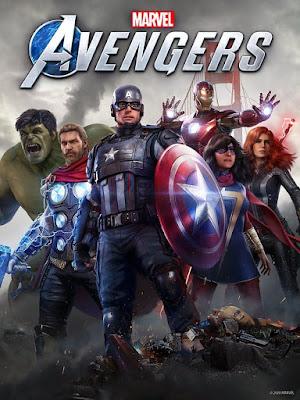 Capa do Marvel's Avengers