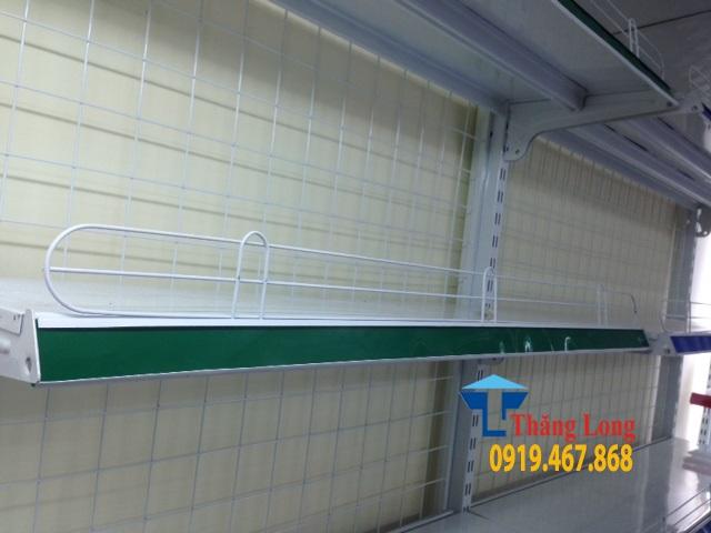 Bán rào chắn hàng siêu thị bằng mica, sắt sơn tĩnh điện