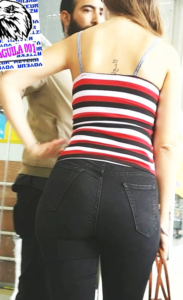Latina Nerd with nice ass and figure | Divine Butts - Candid Milfs In Public