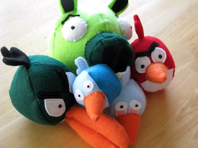pig and angry birds
