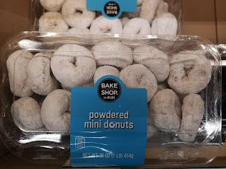 Package of Bake Shop by Aldi Powdered Mini Donuts
