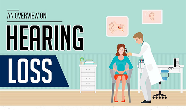 An Overview of Hearing Loss #infographic
