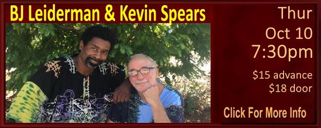 https://www.whitehorseblackmountain.com/2019/09/bj-leiderman-kevin-spears-1010-730pm.html