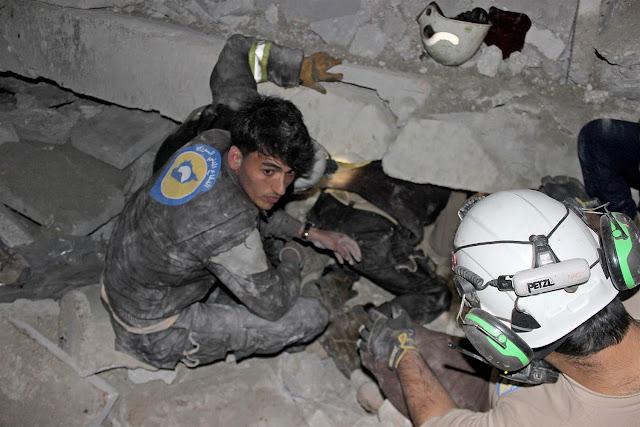 Bom Jatuh di Aleppo Tewaskan Puluhan Muslim yang Sedang Sholat Jamaah, Pelaku Mengaku