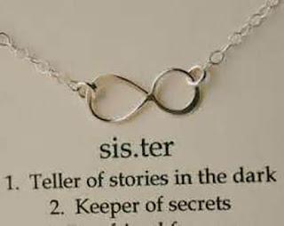 MY sister ,teller of stories in the dark