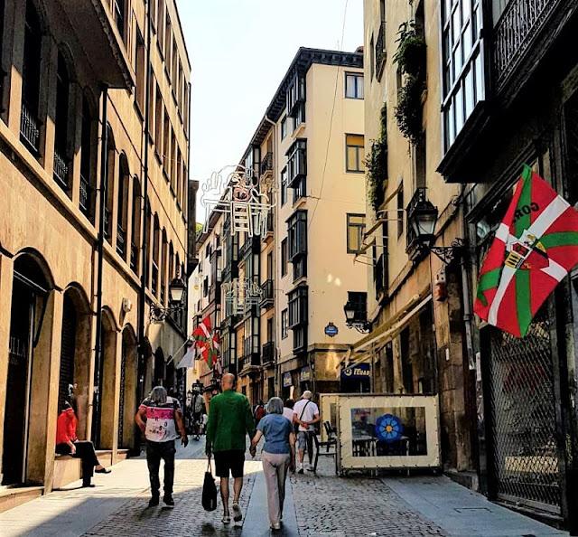 centro storico di bilbao