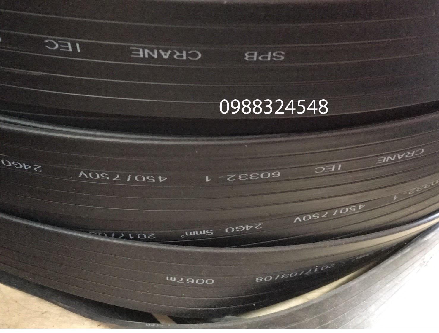 Cáp điện dẹt 24C x 0.5mm2