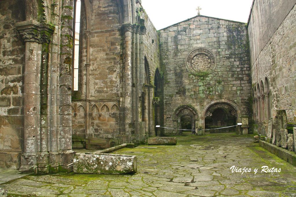 Ruinas de la Iglesia de Santo Domingo, Pontevedra