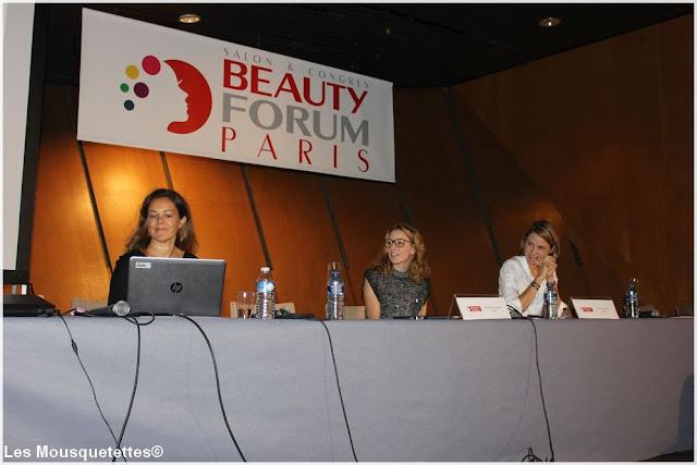 Conférence L'Oréal - Beauty Forum Paris - Blog beauté Les Mousquetettes
