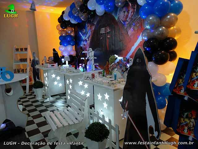 Decoração de festa infantil tema Star Wars - Aniversário