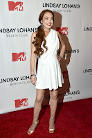 Lindsay Lohan at MTVs Lindsay Lohans Beach Club Premiere Party in NYC