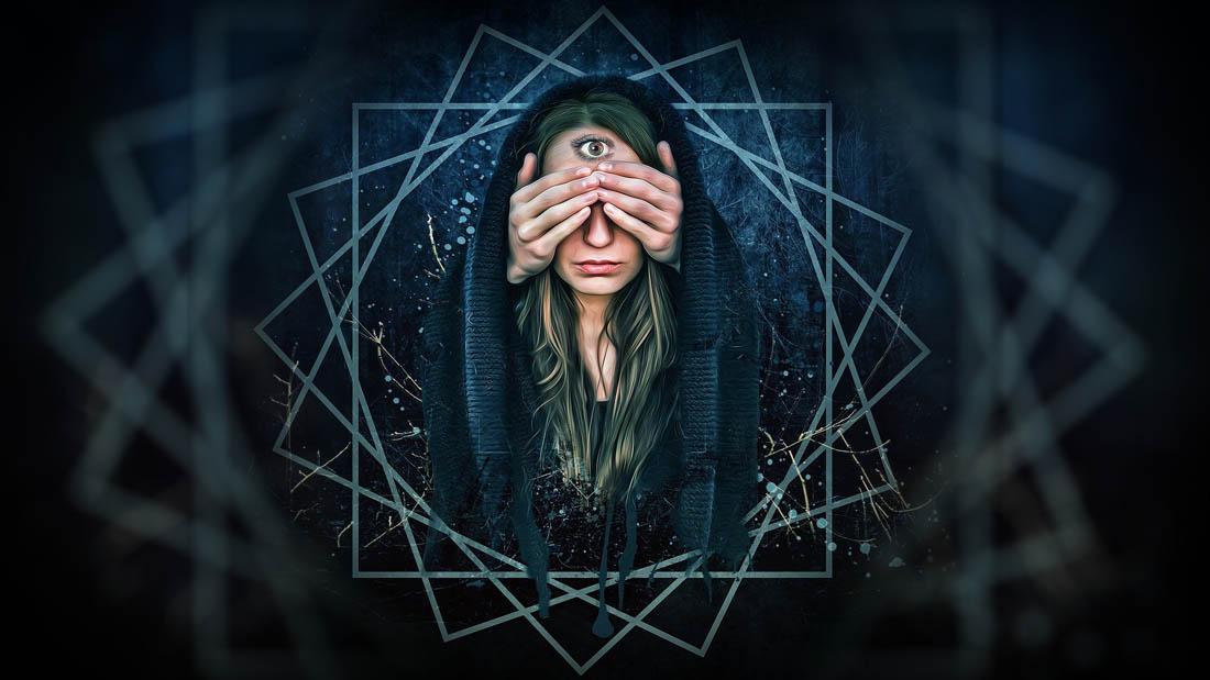 Mujer vidente