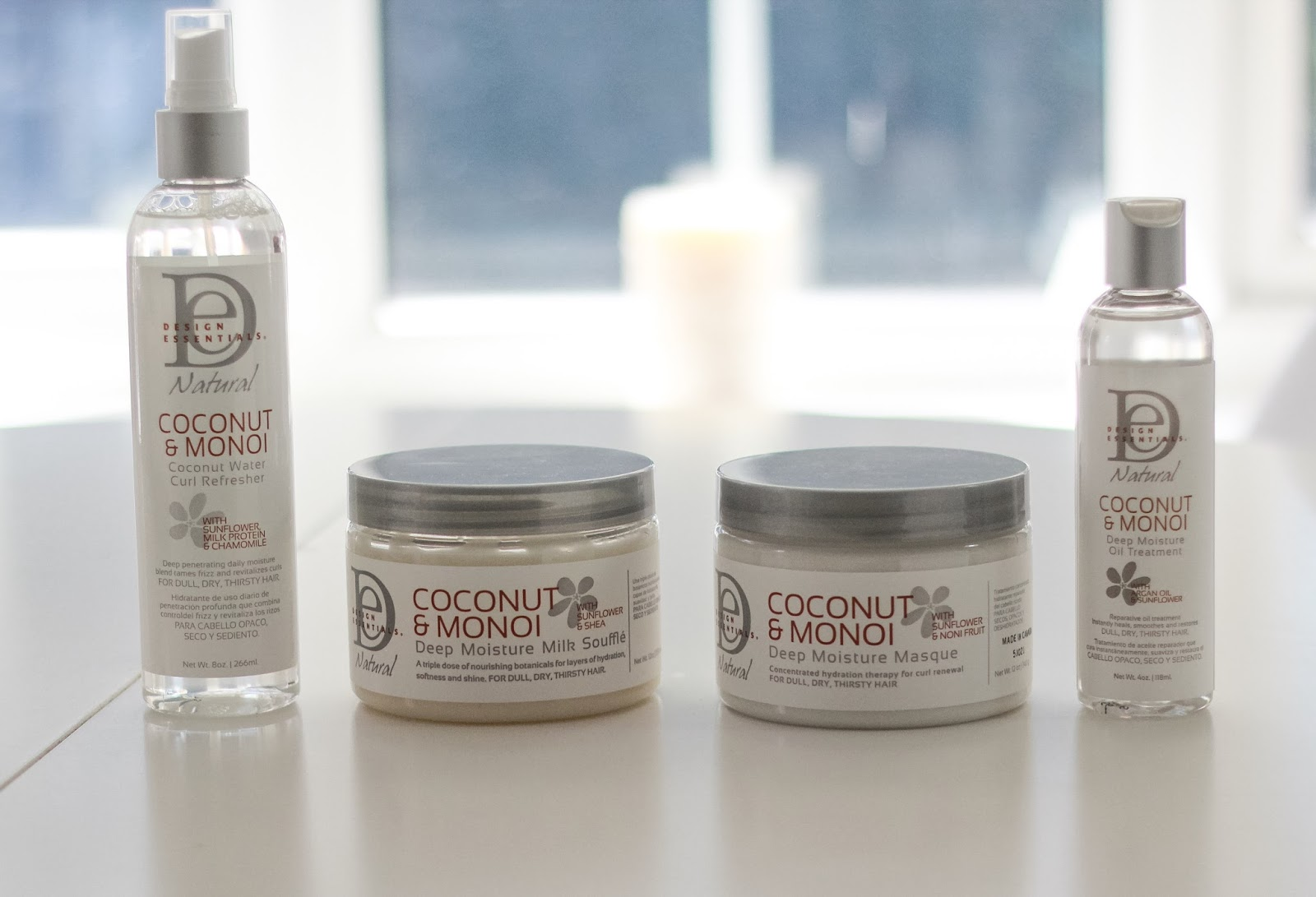 Design Essentials Coconut Monoi Line To Quench Those Curls The
