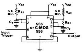 555 Tone Burst Generator Circuit Diagram