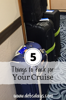 5 things to be sure to pack for a cruise