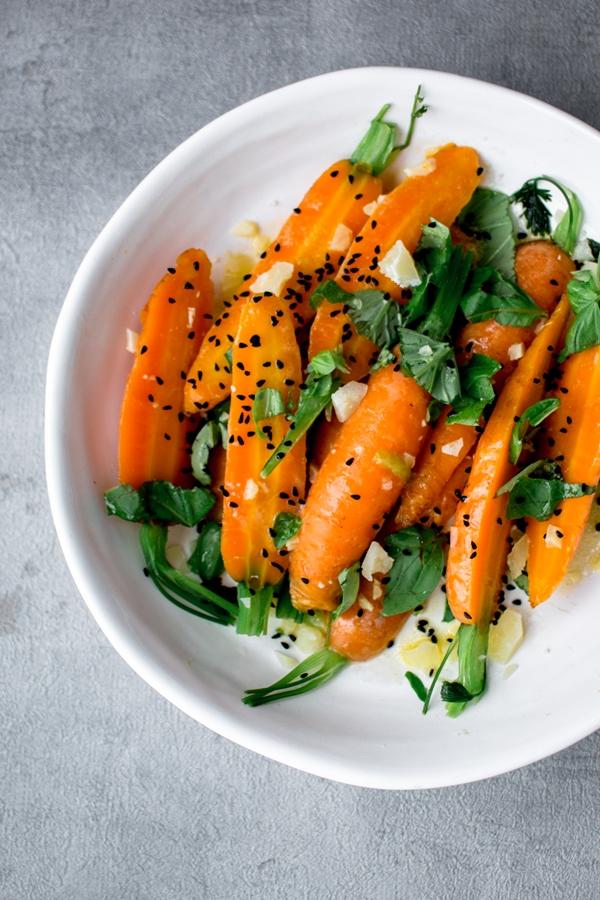Gotowane marchewki