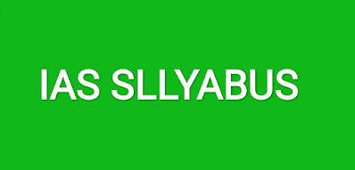 IAS SLLYABUS