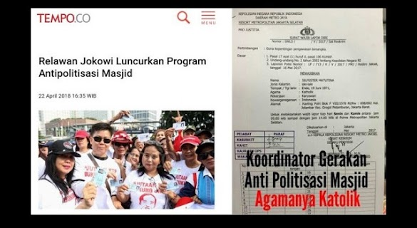 Mustofa Nahra Bongkar Profil Koordinator Gerakan Antipolitisasi Masjid, Ternyata..