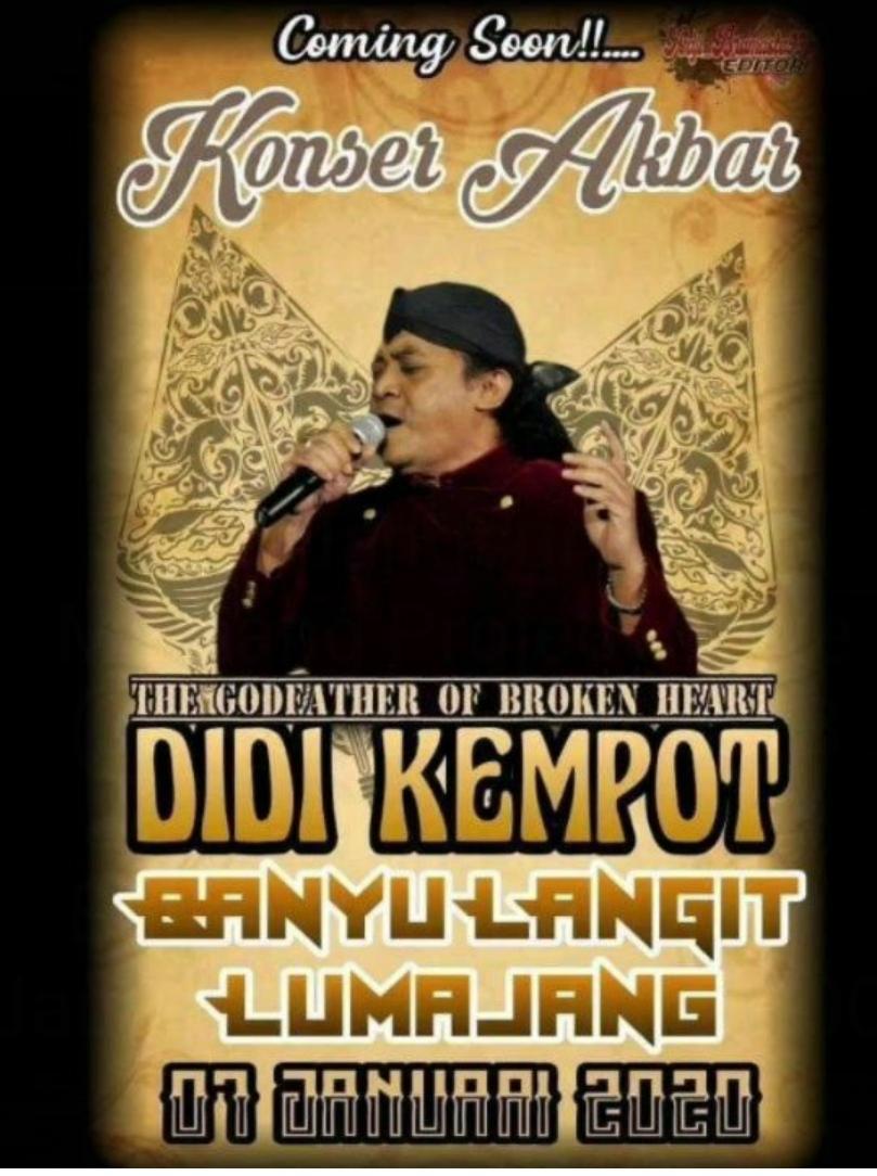 Konser Ambyar Didi Kempot Lumajang Jawa Timur Promotion Your