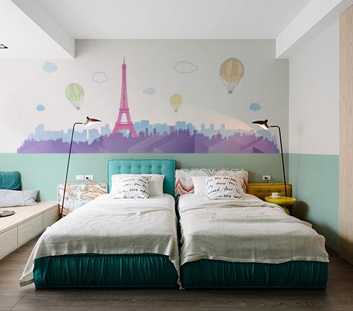VINILO PARIS EN COLOR