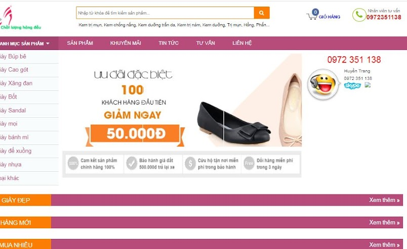 [Share] - Theme Shop giày thời trang