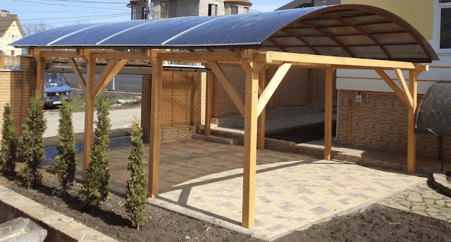 Contoh Desain Carport Batu Sikat Pilihan Untuk Anda