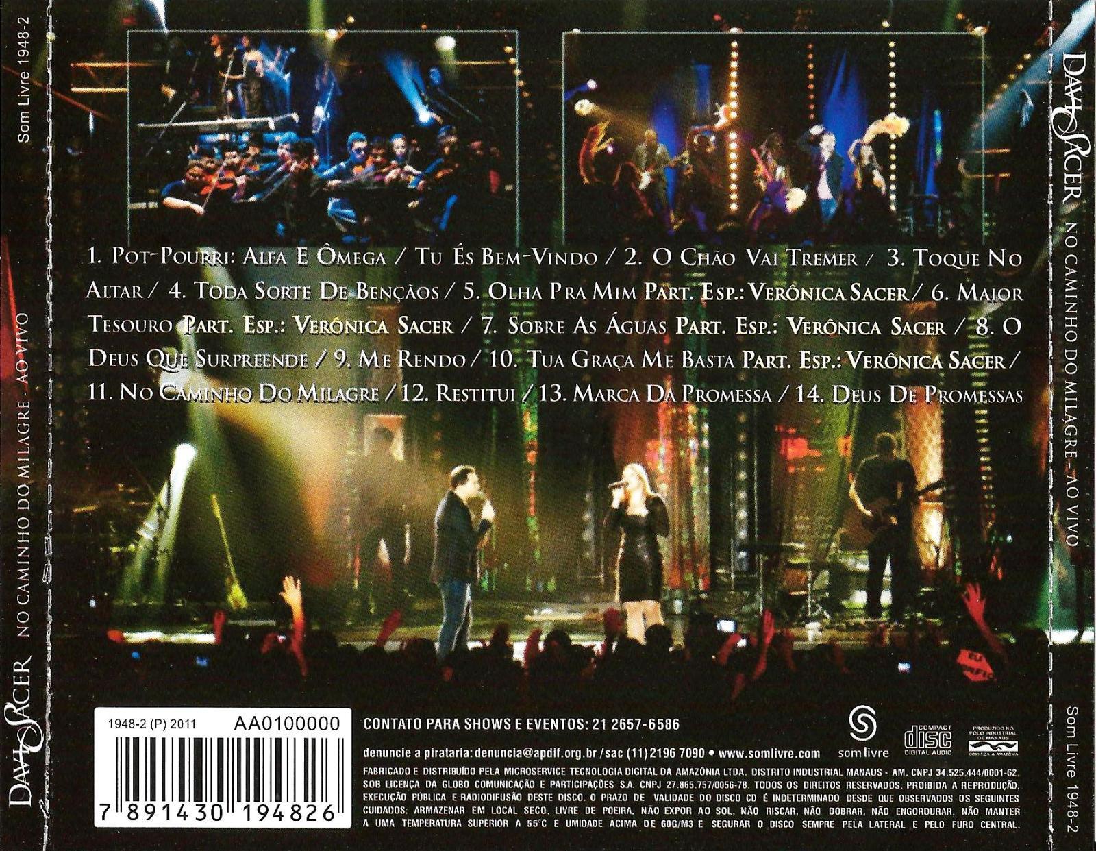 DAVI GRATIS DVD NO BAIXAR MILAGRE SACER DO CAMINHO