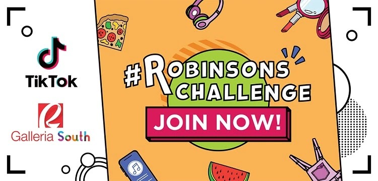 TikTok Teams Up with Robinsons for #RobinsonsChallenge