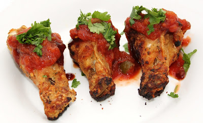 salsa sauce wings