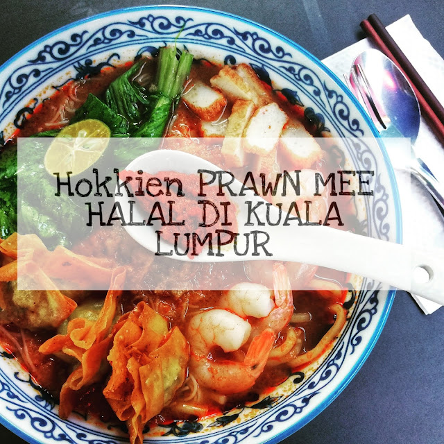 Hokkien Prawn Mee HALAL dan MURAH di Kuala Lumpur