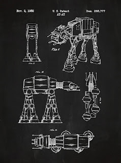 Starwars - blueprint ATAT