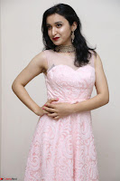 Sakshi Kakkar in beautiful light pink gown at Idem Deyyam music launch ~ Celebrities Exclusive Galleries 017.JPG