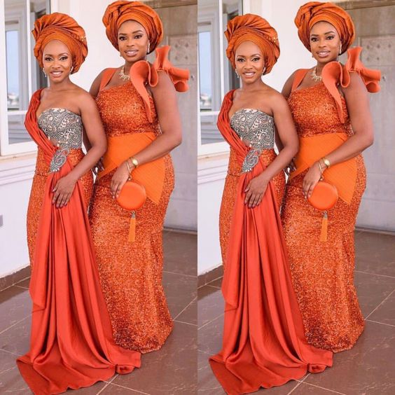 Fabulous Asoebi Styles for Wedding Guest