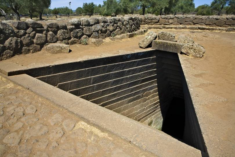 The wells of Sardinia and for this reason it is interesting not only for tourists.