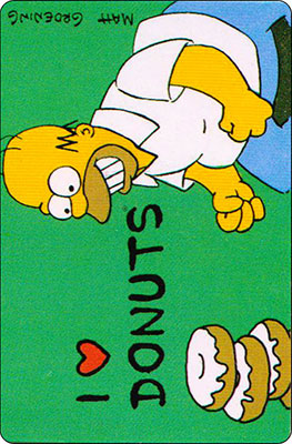 Bollycao The Simpsons Cromo 26