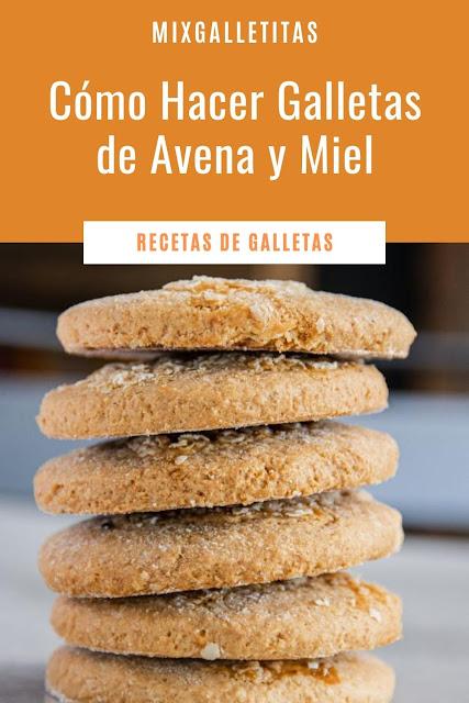 Cómo hacer galletas de avena y miel