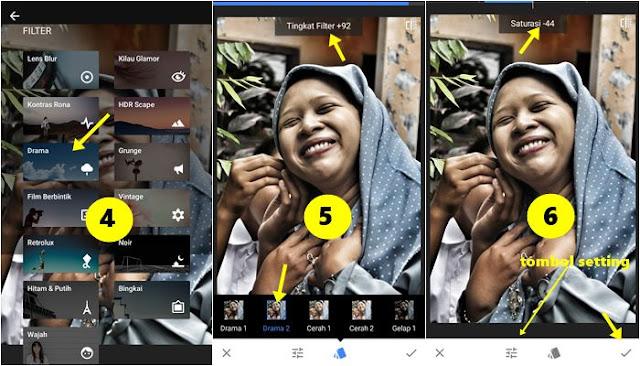 Cara Membuat Foto Efek HDR di Smartphone dengan Snapseed 2