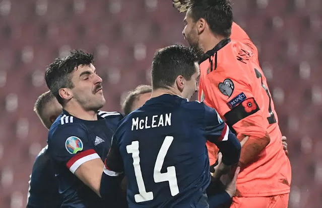 agadirpress   تتأهل اسكتلندا لنهائيات كأس الأمم الأوروبية 2020 لإنهاء انتظار طويل مع دخول مقدونيا الشمالية التاريخ جريدة أكادير بريس