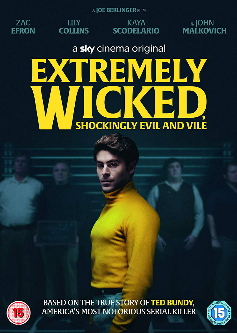 Extremely Wicked, Shockingly Evil, And Vile dvd