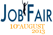JOB FAIR in Haryana: BE/ BTech/ BBA/ BCA/Diploma/ MCA/ BCom/ BSc/MBA – 2013 & 2014 Batch: On 10 August 2013