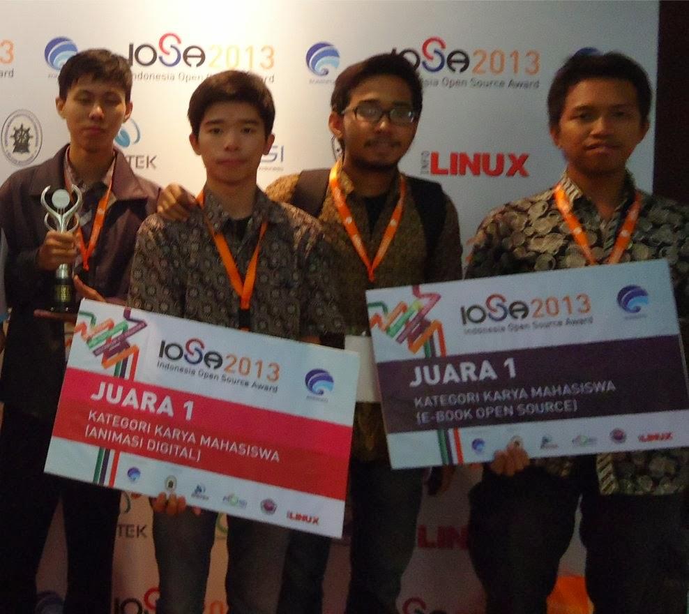 Juaras 1 Kategori Mahasiswa