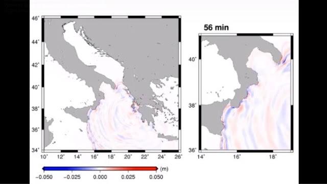 Δείτε πως έφτασε το τσουνάμι από τη Ζάκυνθο σε Πελοπόννησο και Ιταλία (βίντεο)