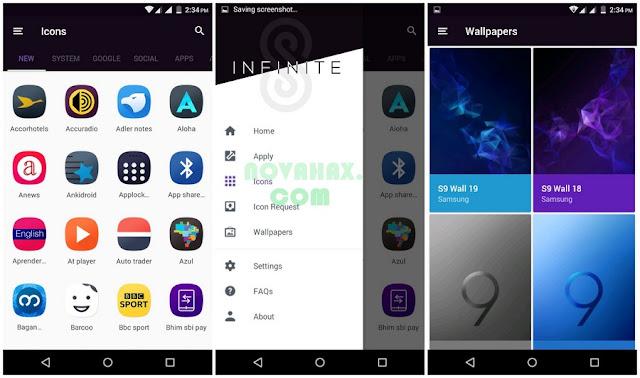 Infinite S9 Icon Pack mod apk
