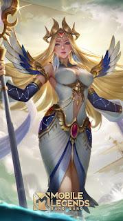 Kadita White Robin Heroes Mage of Skins