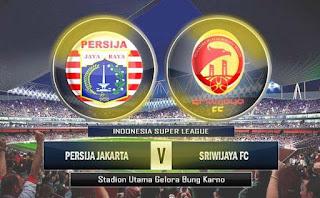 Persija vs Sriwijaya